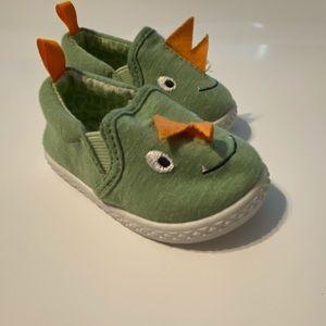 Dinosaur slide on sneakers